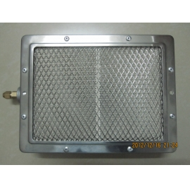 gas infrared heating panel for