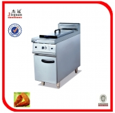 1-tank fryer (1-basket) with cabinet
