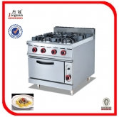 Gas 4-Burner and Oven